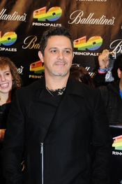 Alejandro Sanz en los Premios 40 Principales 2010