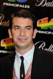 Arturo Valls en los Premios 40 Principales 2010