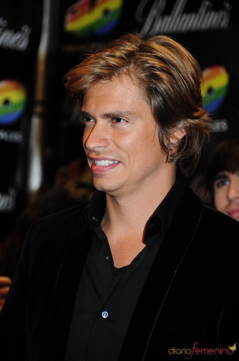 Carlos Baute en los Premios 40 Principales 2010
