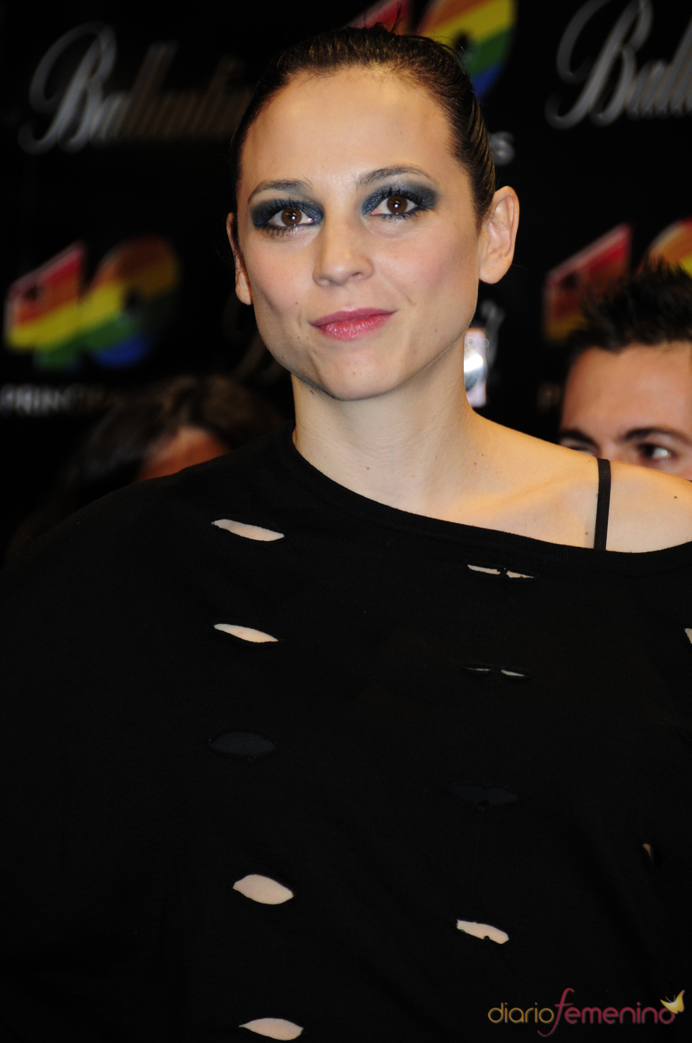 Leonor Watling en los Premios 40 Principales 2010