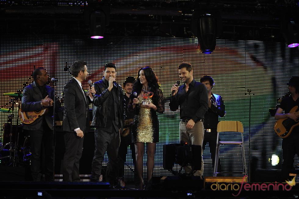 Cher en los Premios 40 Principales 2010