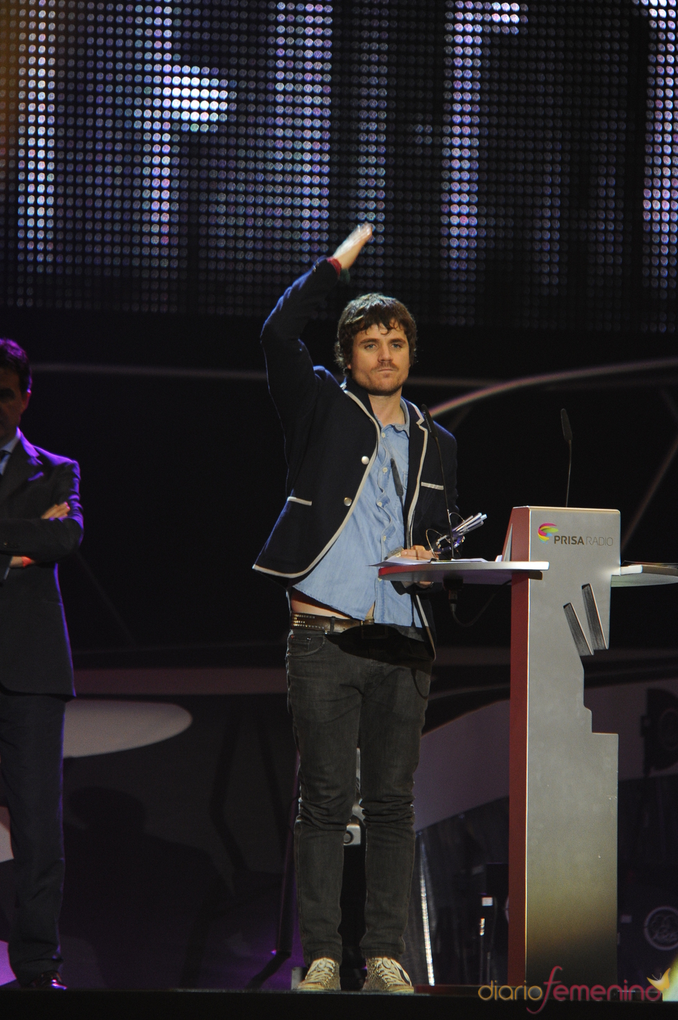 Dani Martín emocionado con su premio
