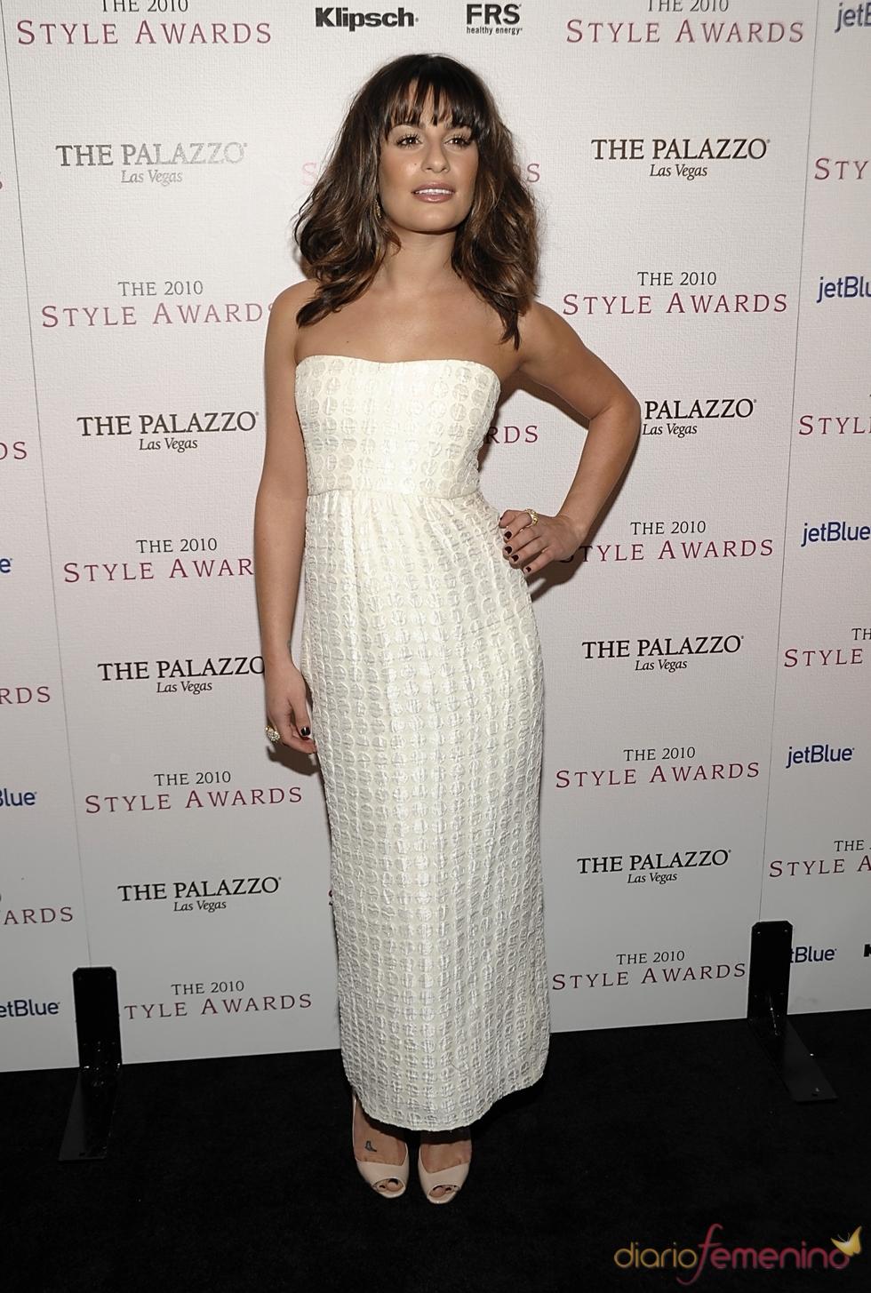 Lea Michele en los Premios Hollywood Style 2010