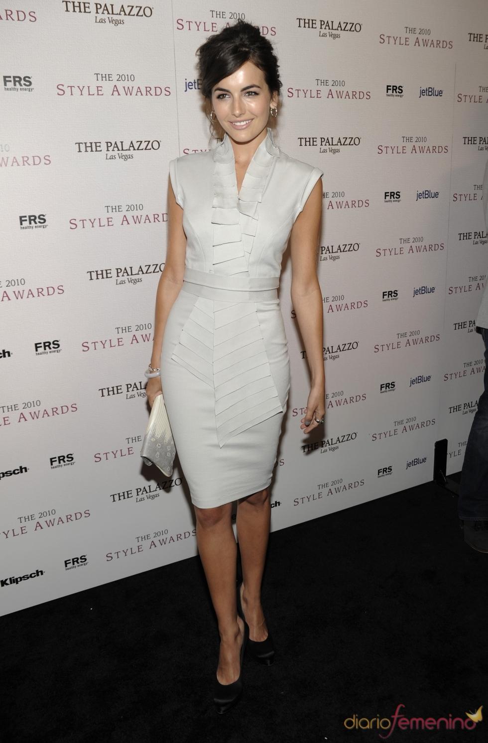 Camilla Belle en los Premios Hollywood Style 2010