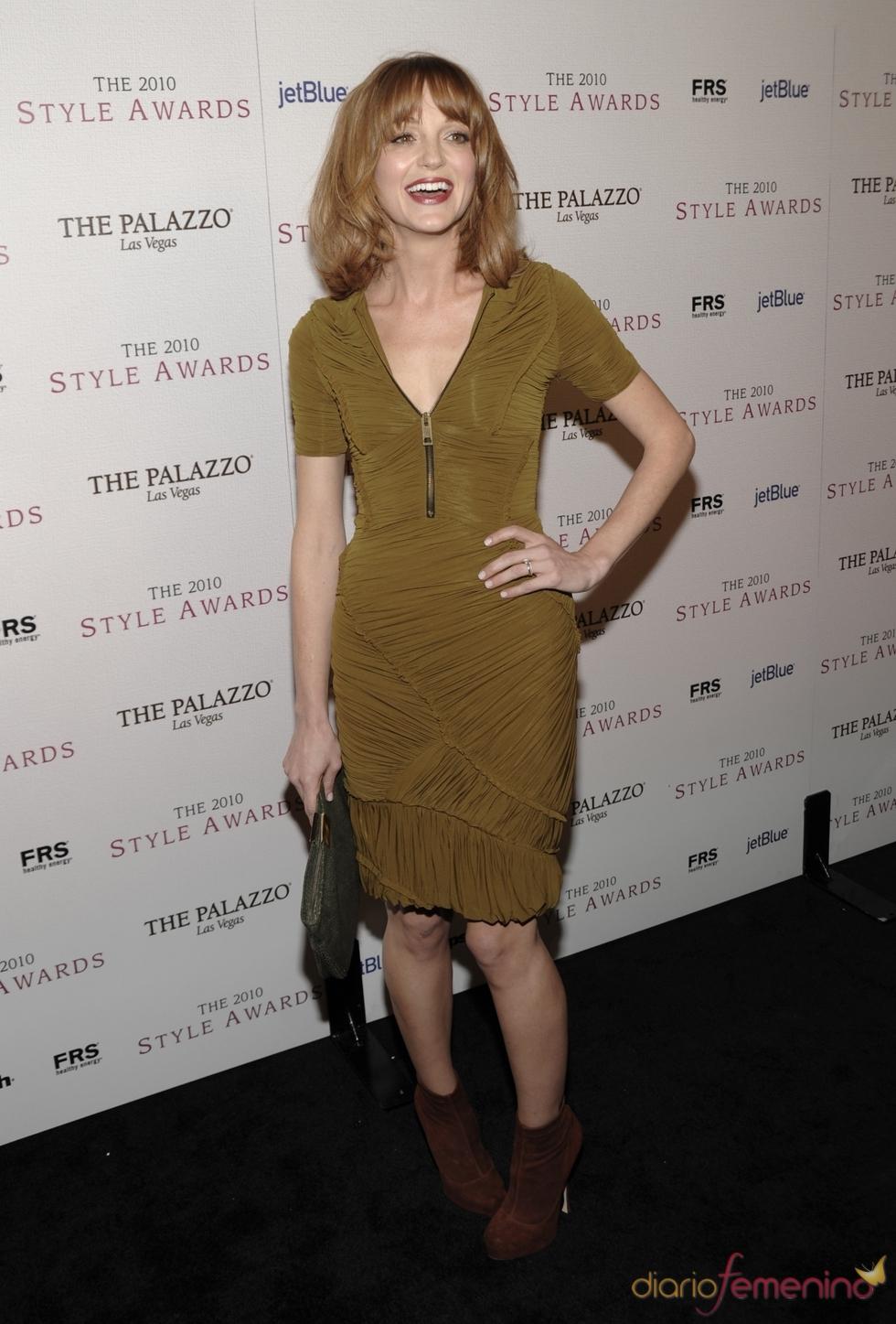 Jayma Mays en los Premios Hollywood Style 2010
