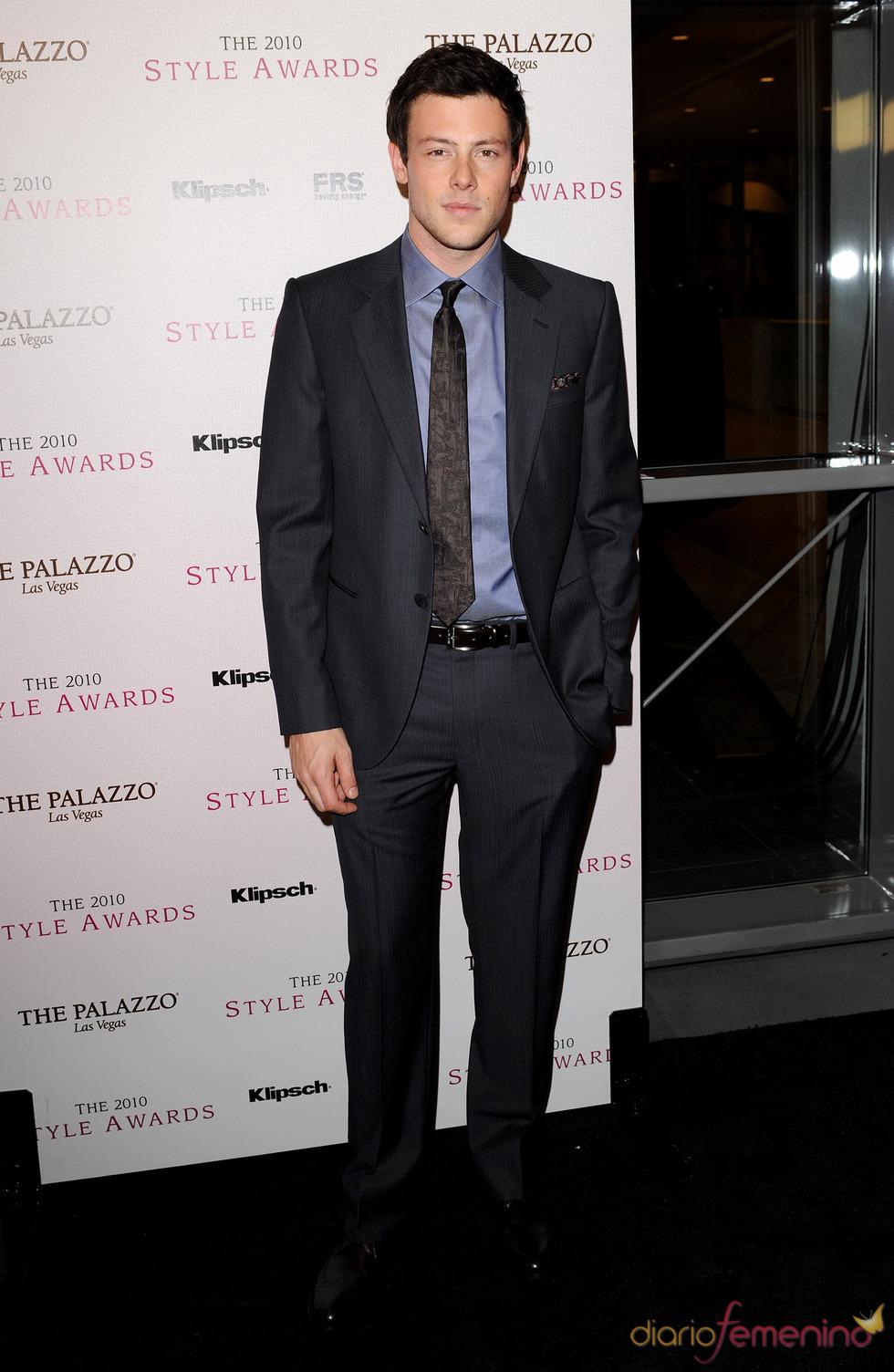 Cory Monteith en los Premios Hollywood Style  2010