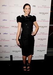 Emily Blunt en los Premios Hollywood Style 2010