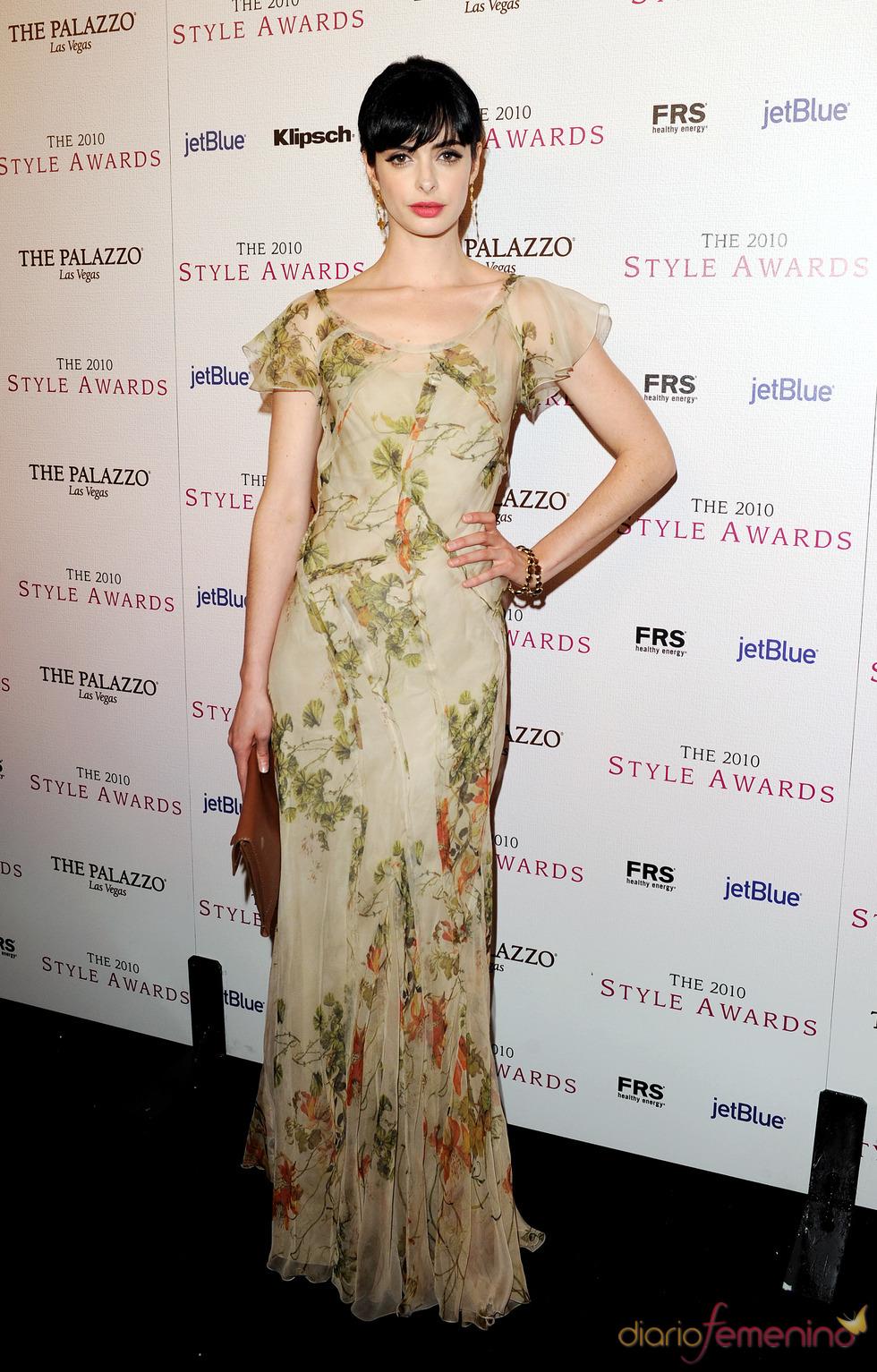 Krysten Ritter en los Premios Hollywood Style 2010