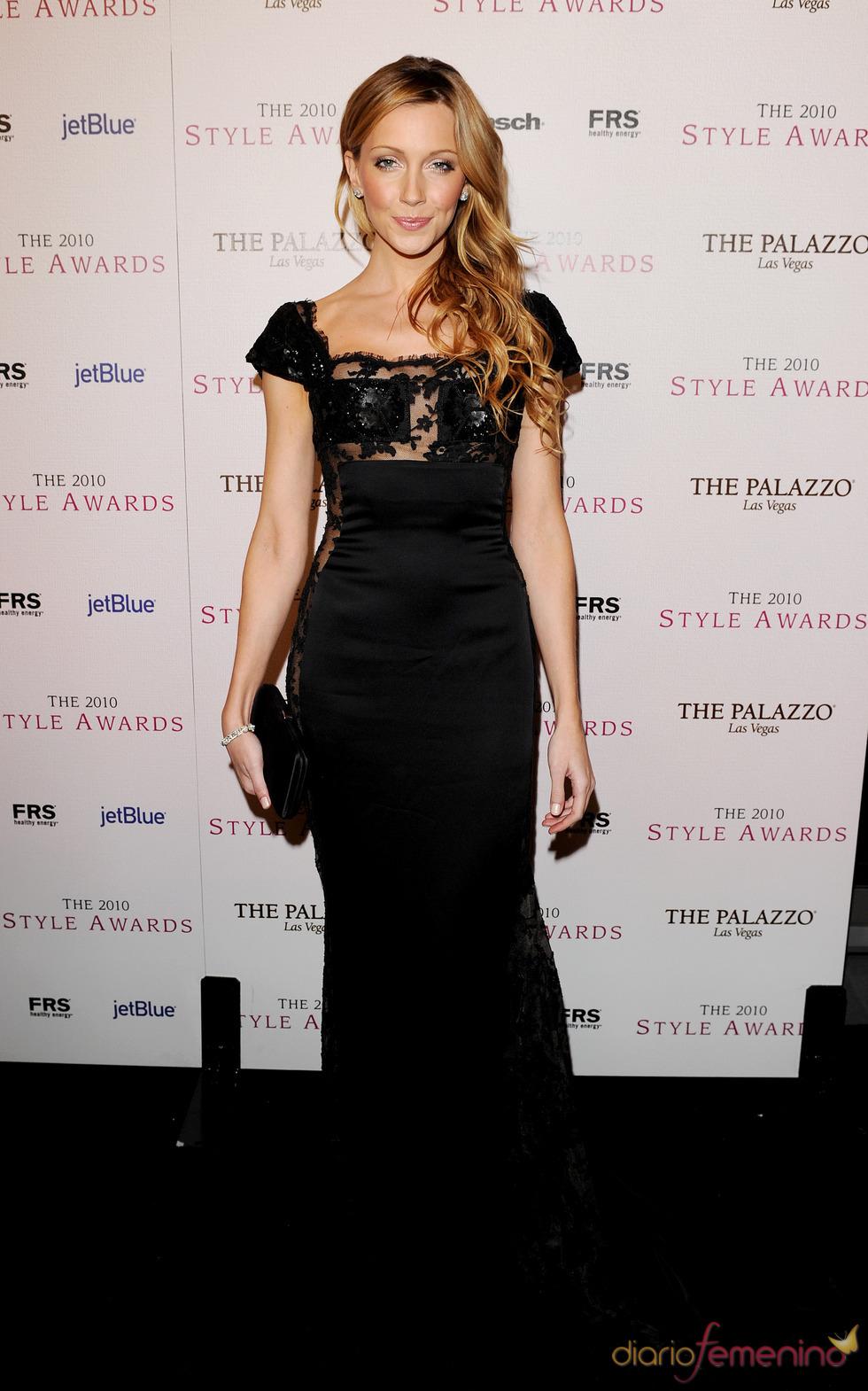 Kate Cassidy en los Premios Hollywood Style 2010