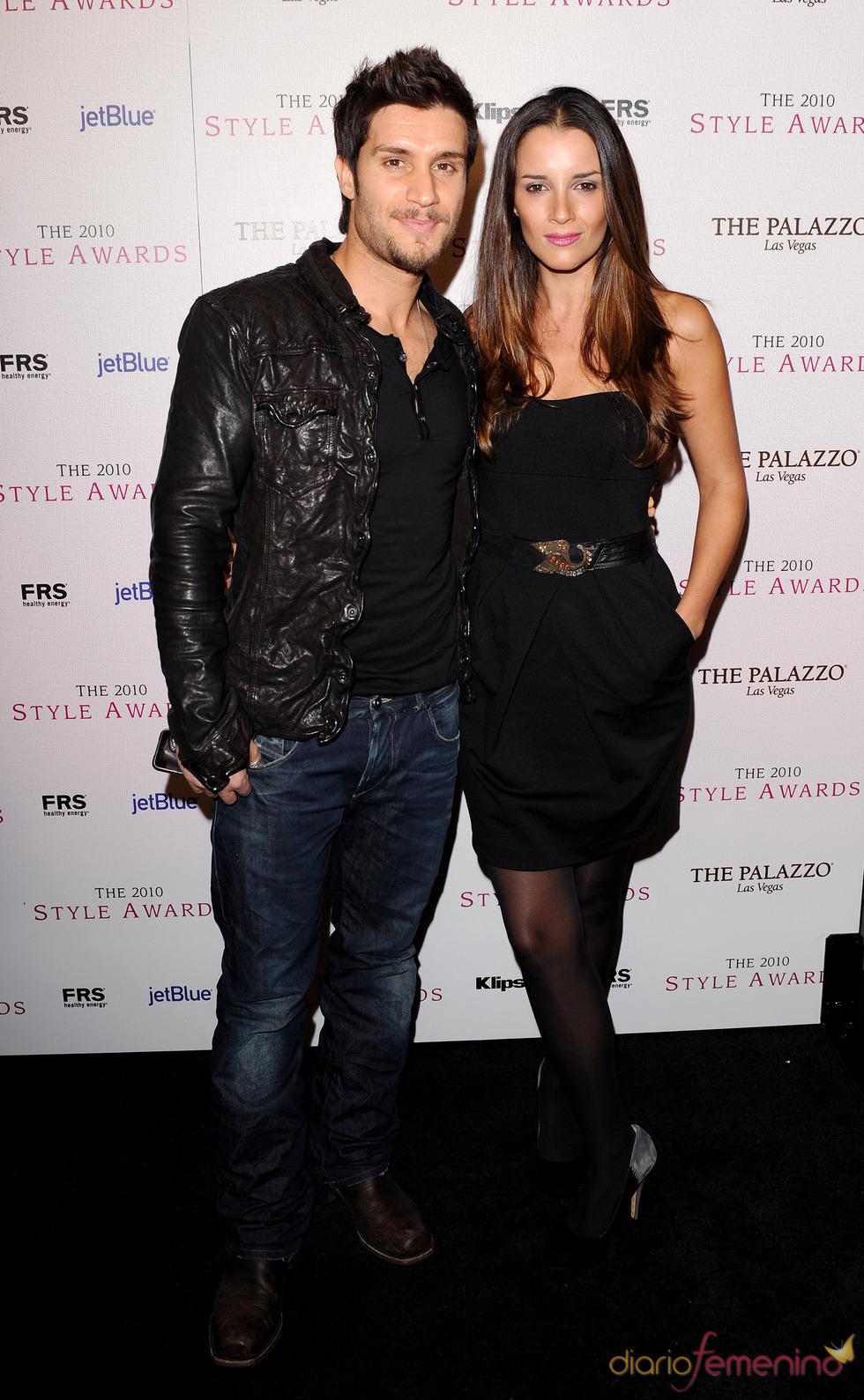 Michael Lombardi en los Premios Hollywood Style 2010