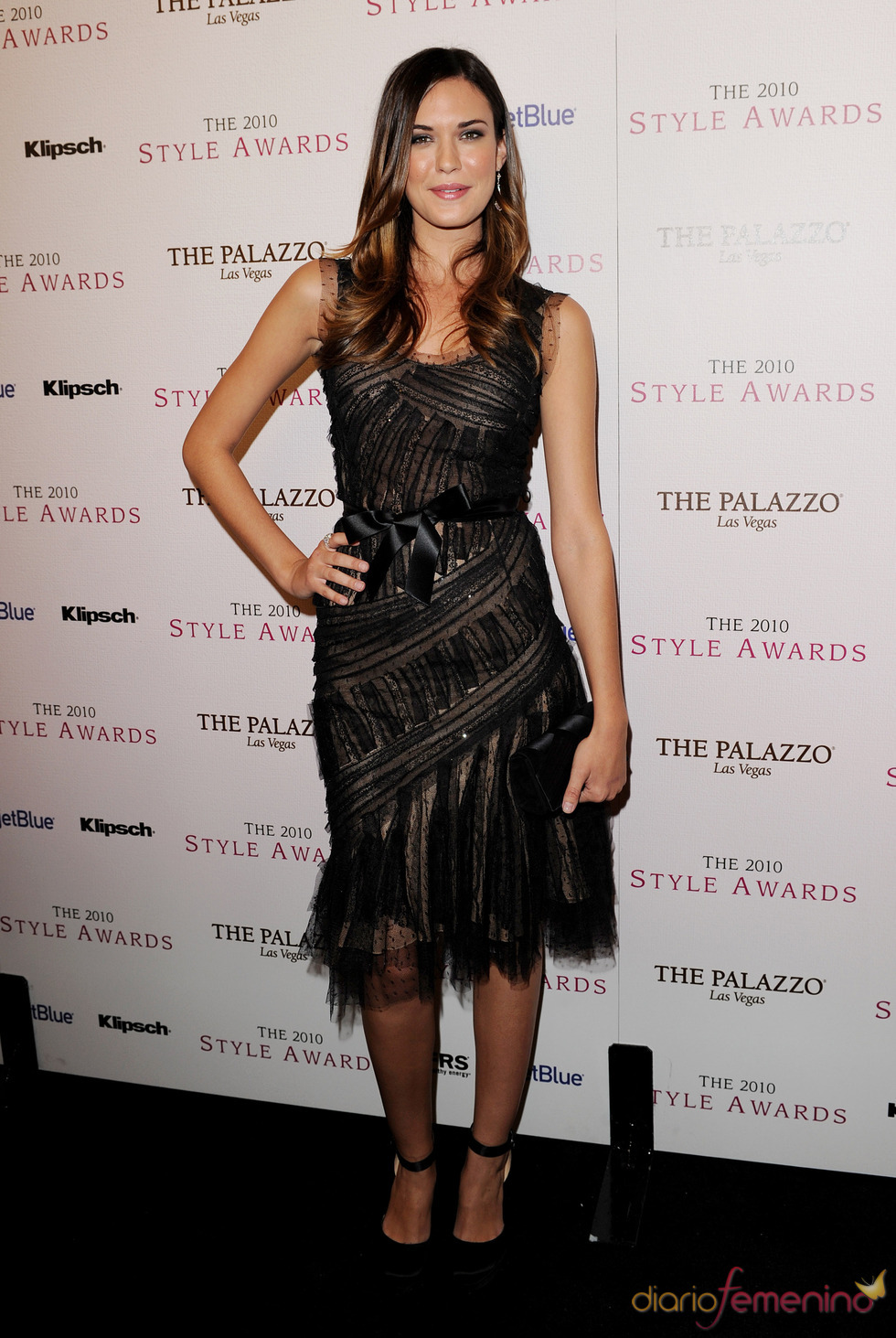 Odette Yusman en los Premios Hollywood Style 2010