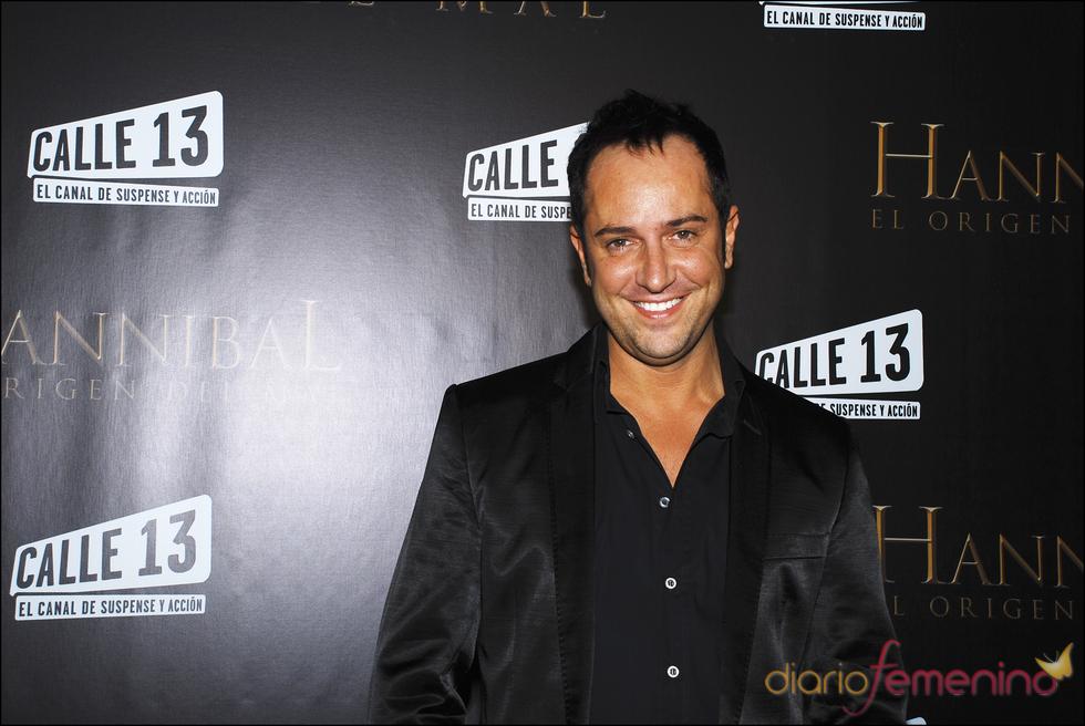 Víctor Sandoval durante la presentación de la película