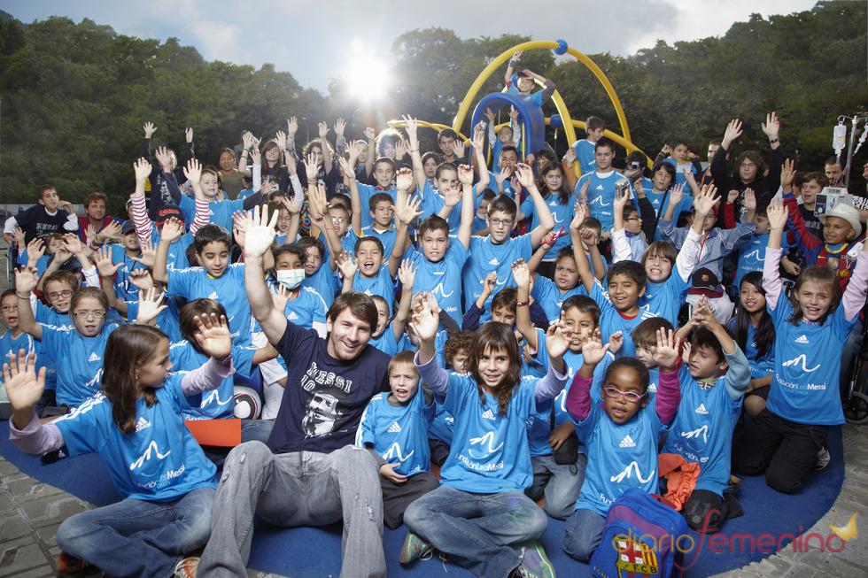 Calendario ÁNIMA 2011 con Leo Messi