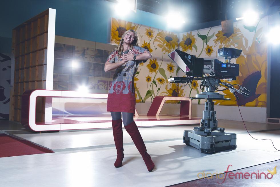 Anne Igartiburu en el calendario ÁNIMA 2011