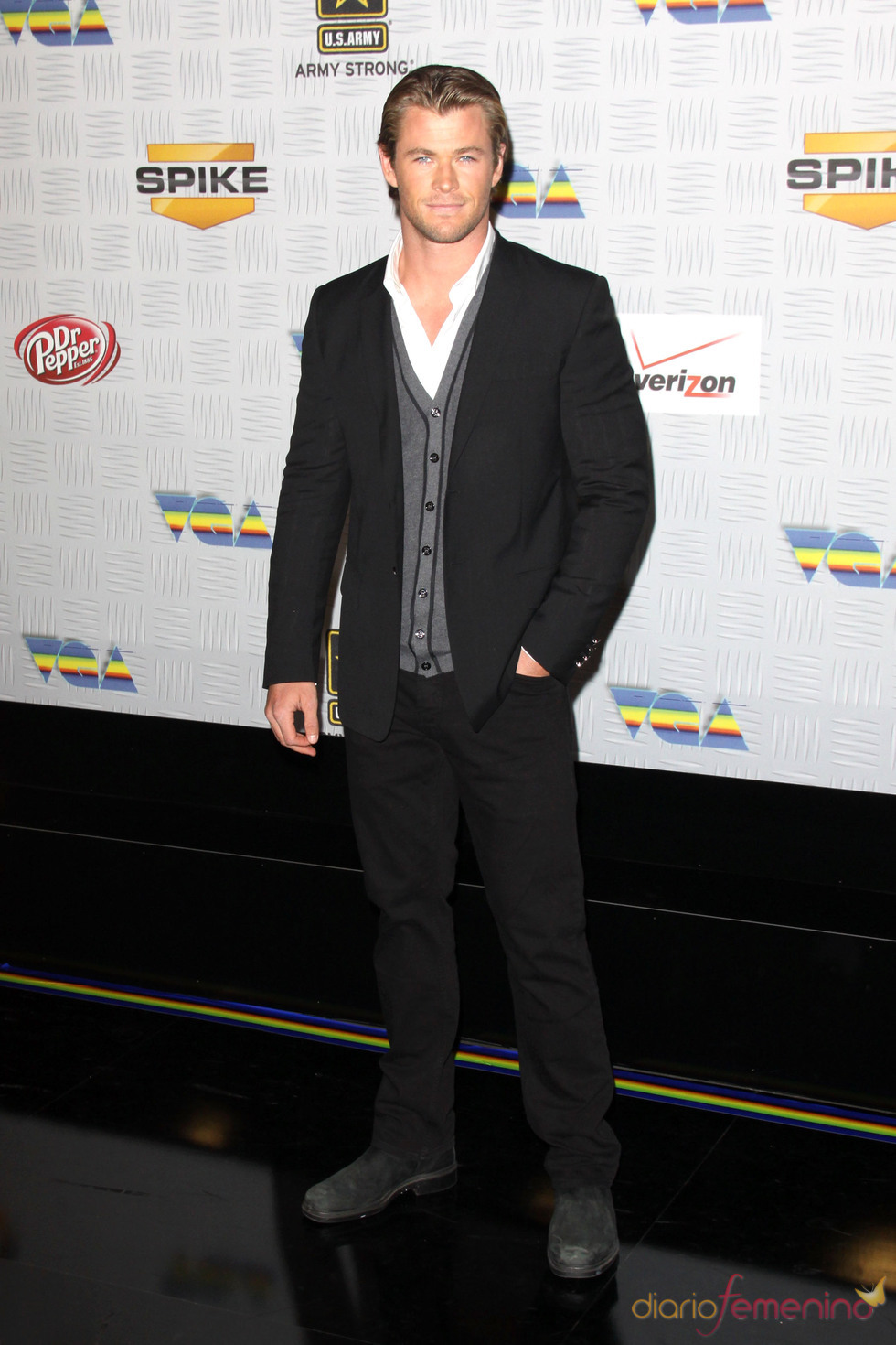 Chris Hemsworth en los VGA Awards 2010