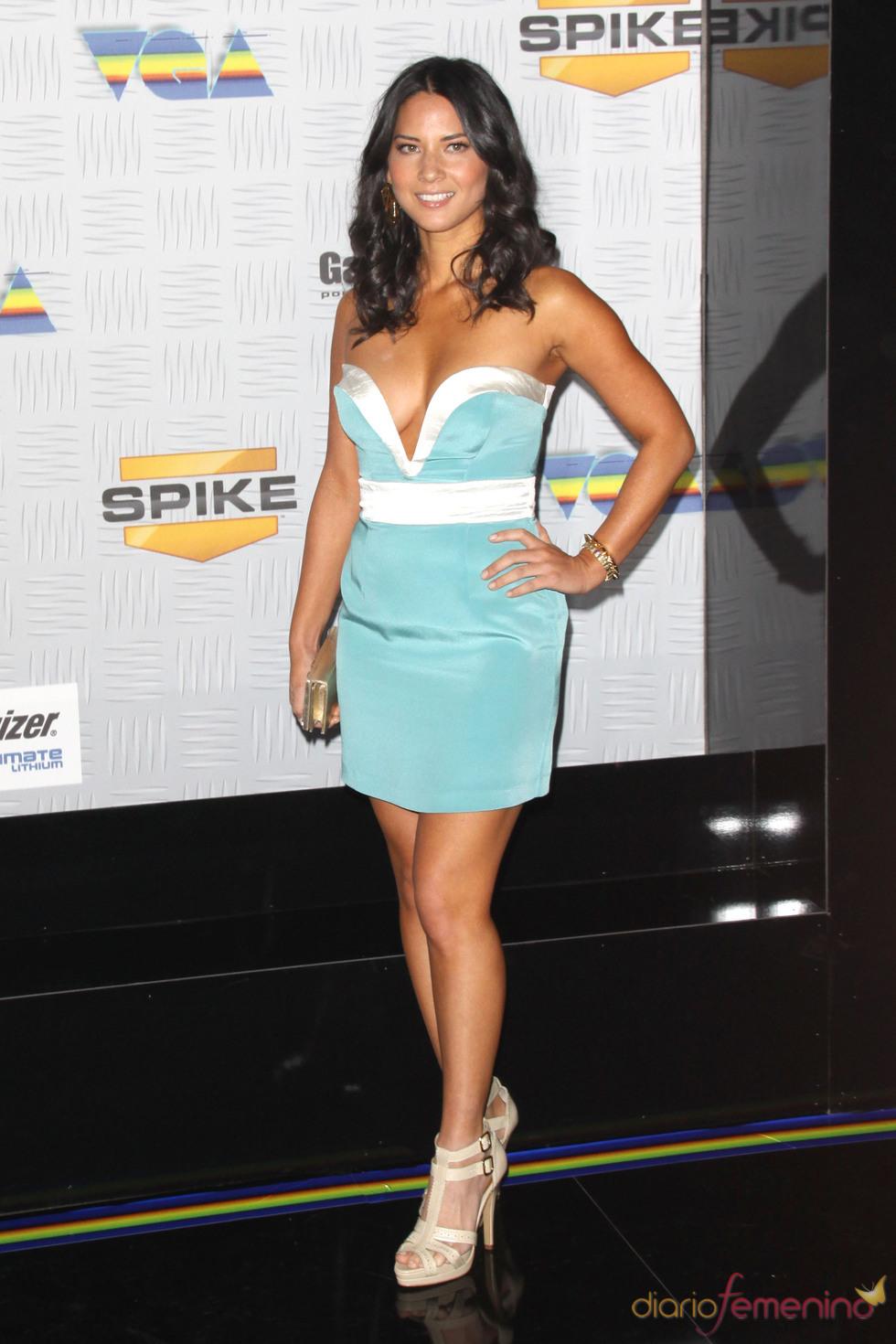 Oliva Munn en los VGA Awards 2010