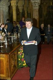 Enrique Morente, multitud de veces reconocido por su talento