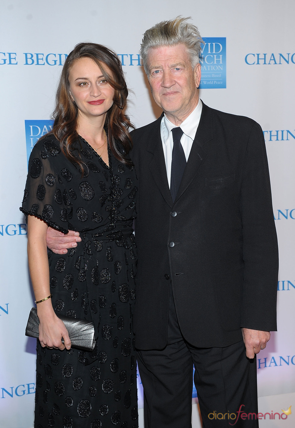 Emily y David Lynch, solidarios en Navidad