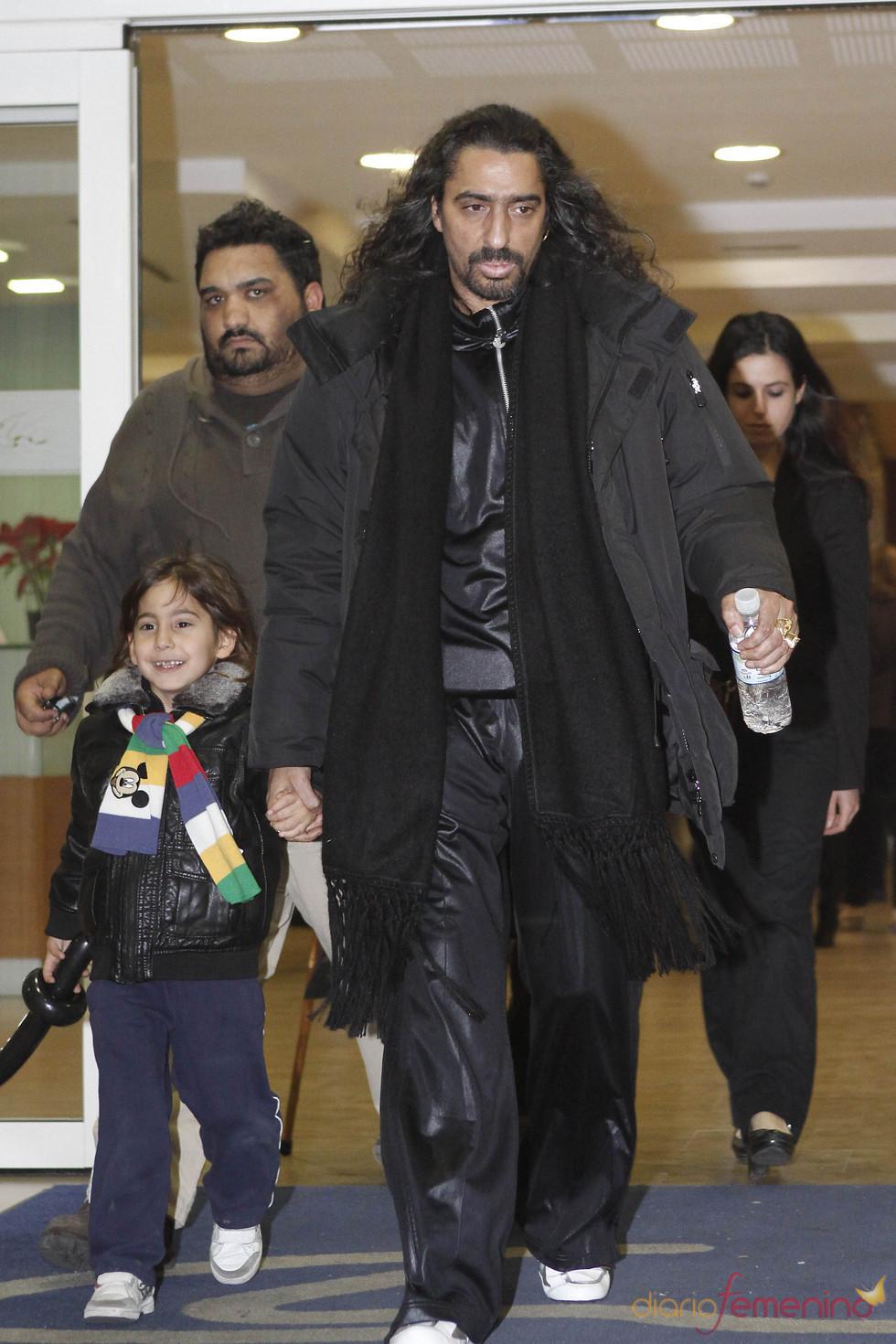 Diego El Cigala da su apoyo a la familia de Enrique Morente