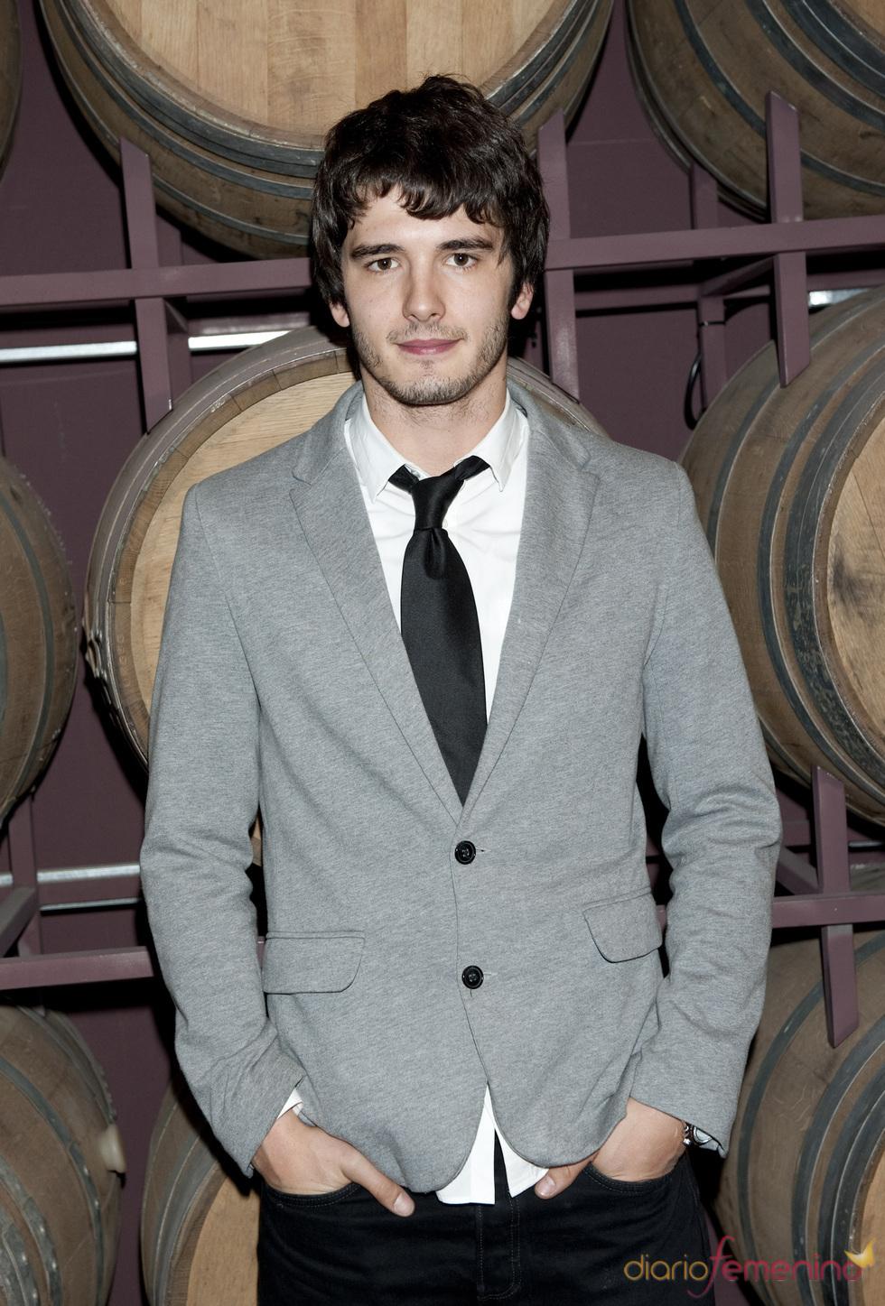 Yon González, uno de los actores de televisión españoles más guapos