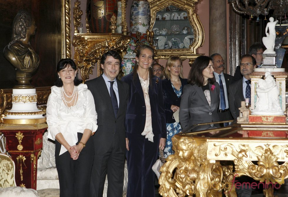 La infanta Elena preside la reapertura del Museo Cerralbo