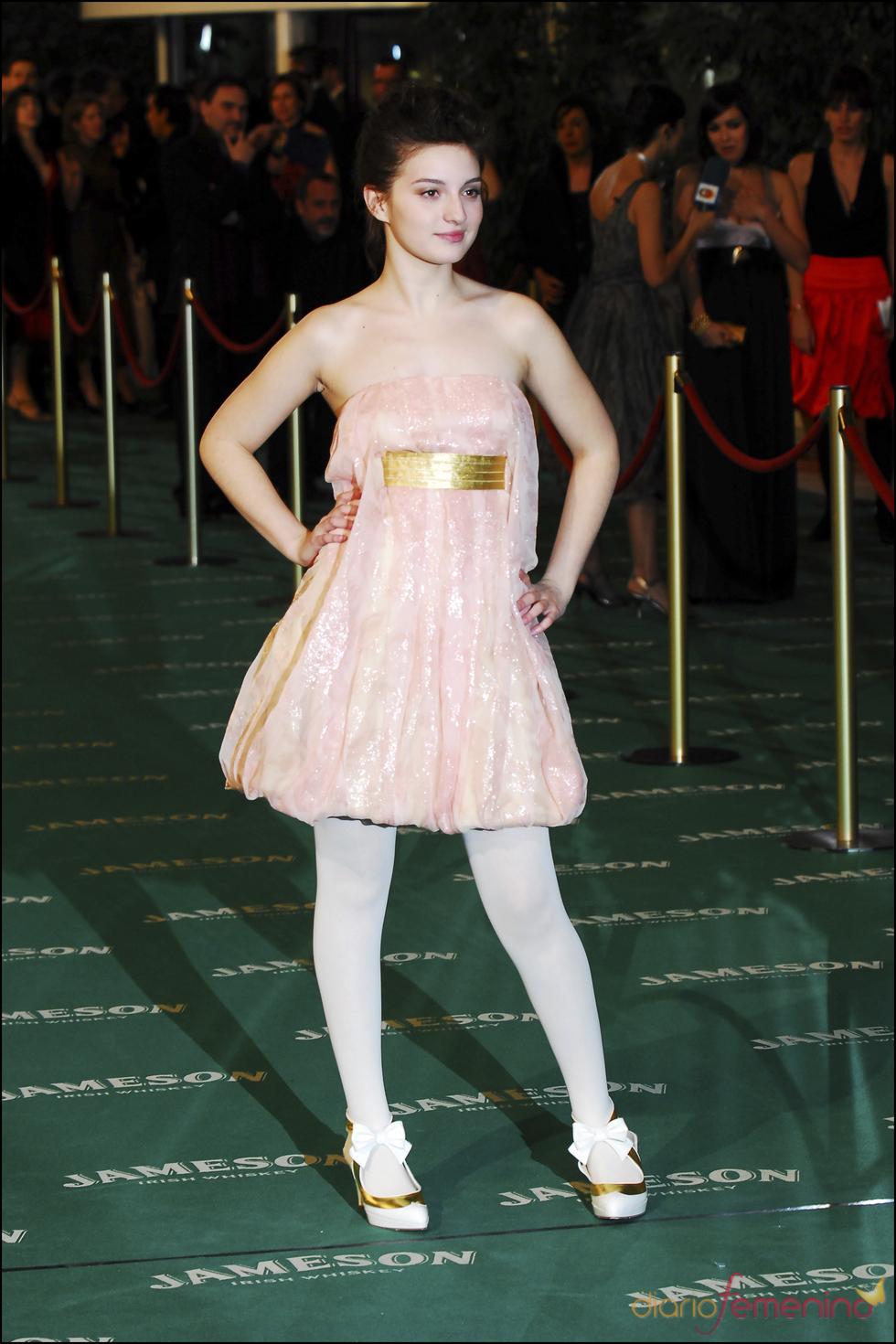 María Valverde en los premios Goya, 2007