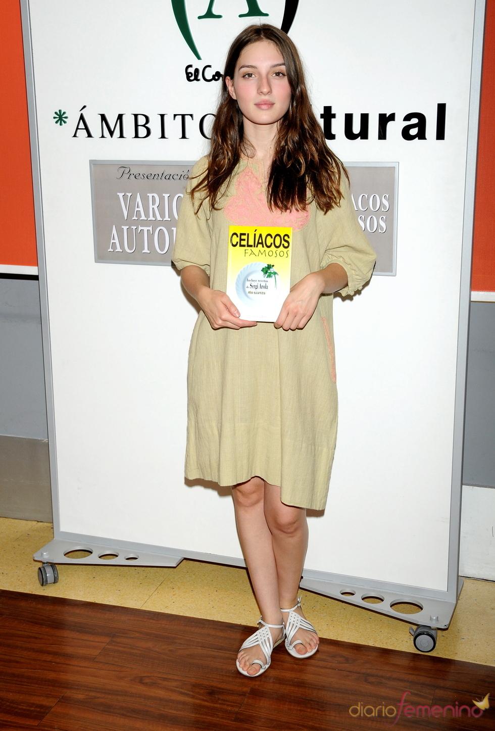 María Valverde en la presentación del un libro
