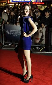 María Valverde en la premier de 'Cracks' en el festival de cine de Londres