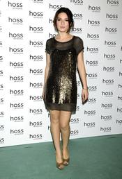 María Valverde en la presentación de la campaña Hoss Intropia