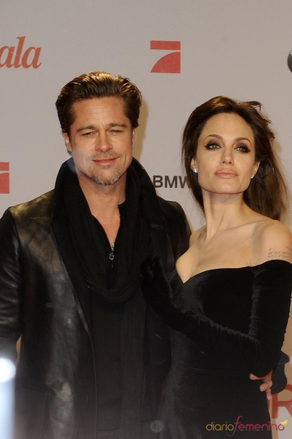 Angelina y Brad radiantes en Berlín