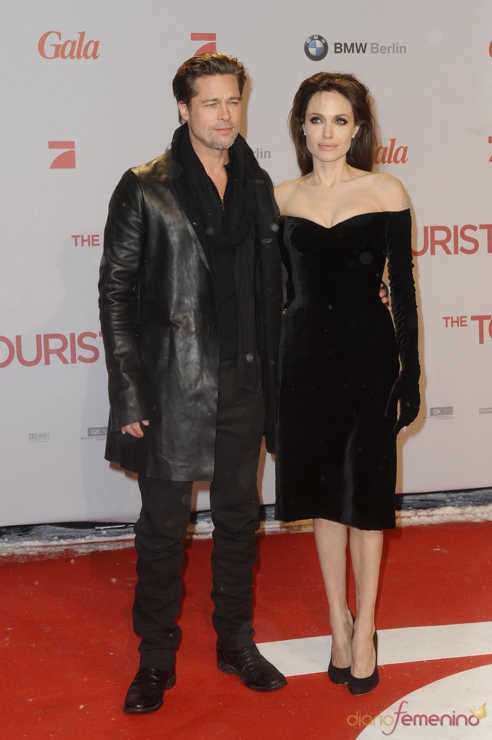 Brad Pitt siempre al lado de su chica