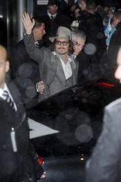 Jonny Depp se despide de sus fans