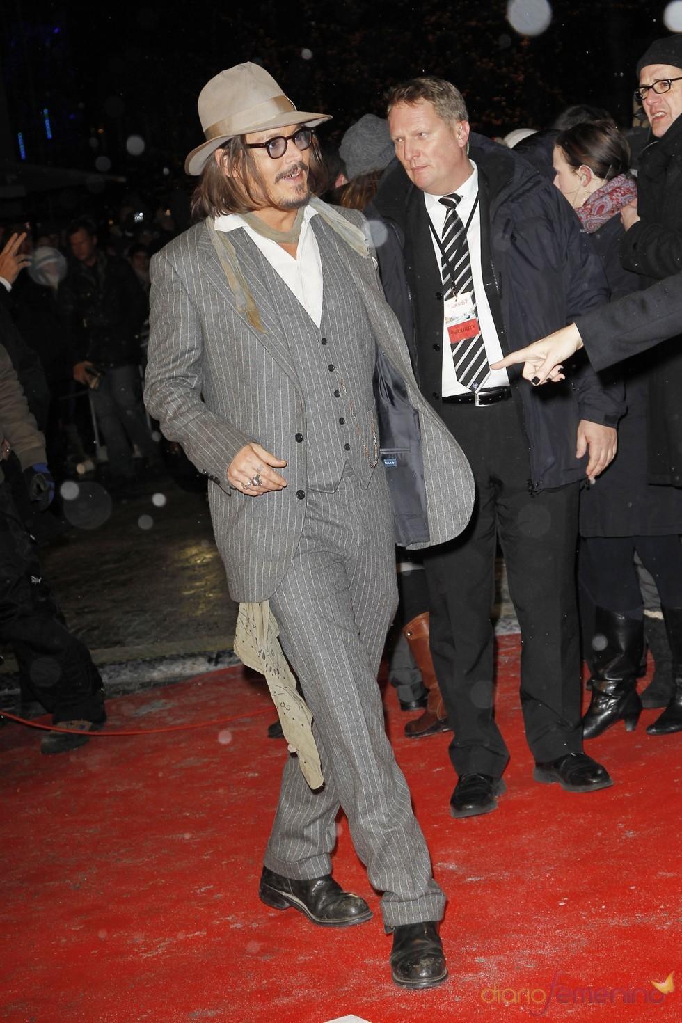 Johnny Depp en Berlín