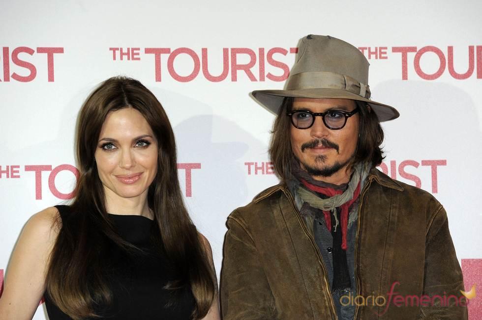 Angelina Jolie y Johnny Depp en Berlín