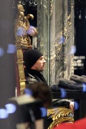 Messi, compras navideñas en Milán