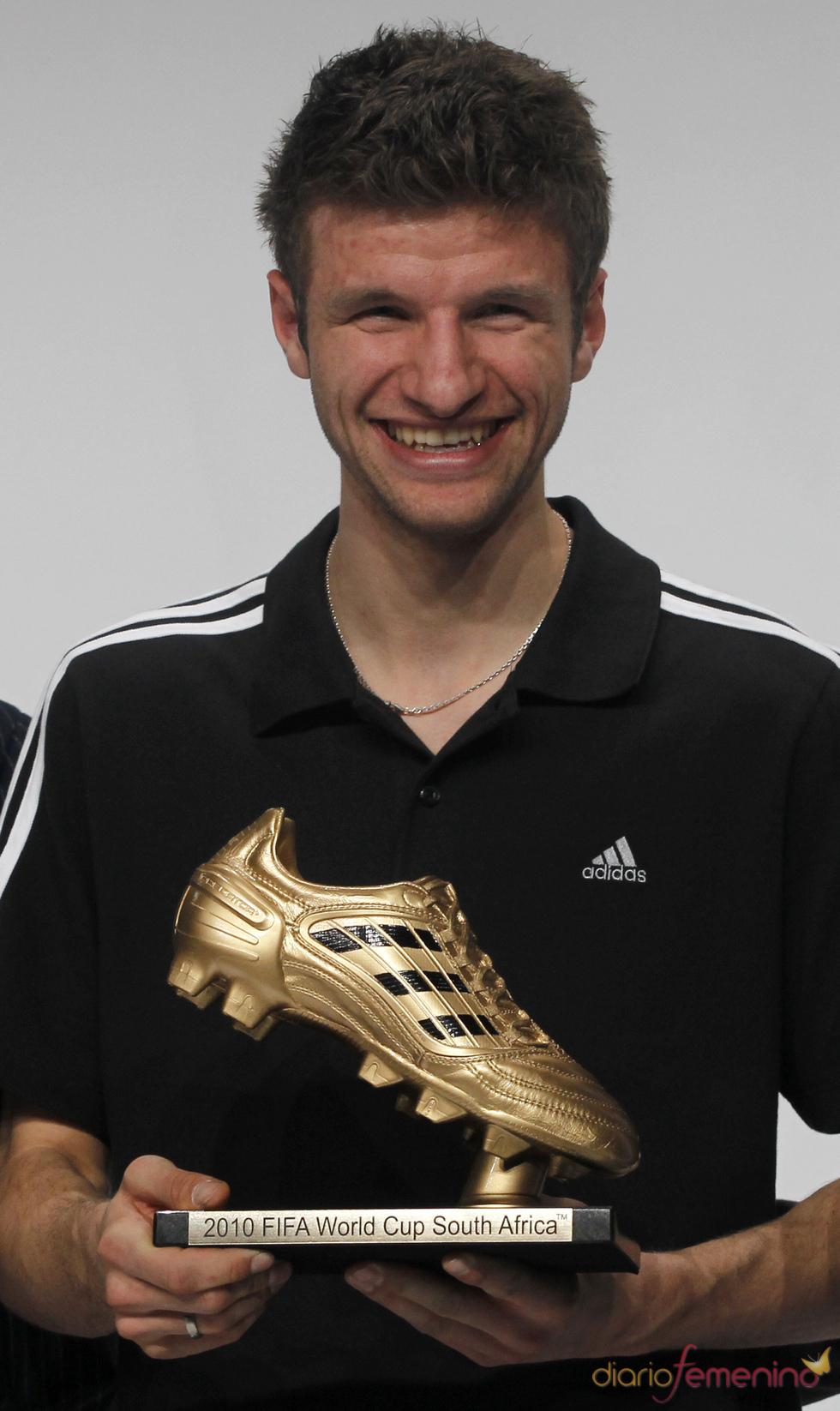 Thomas Müller recoge la Bota de Oro