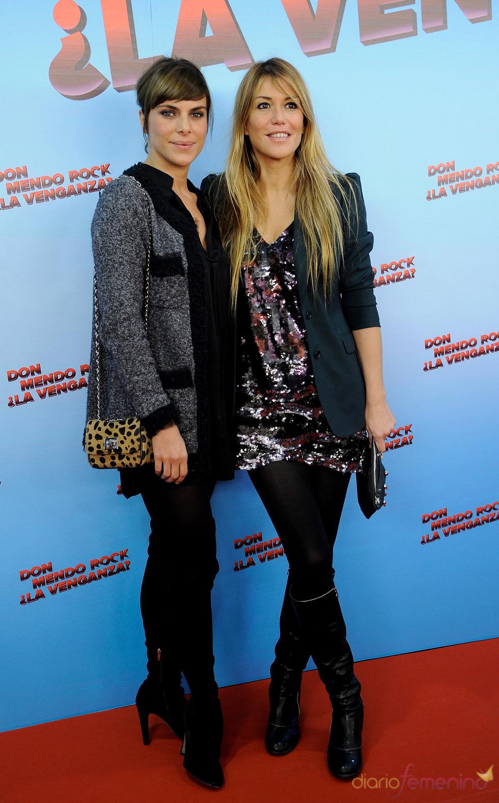 Candela Arroyo y Raquel Merono en 'Don Mendo Rock ¿La venganza?'