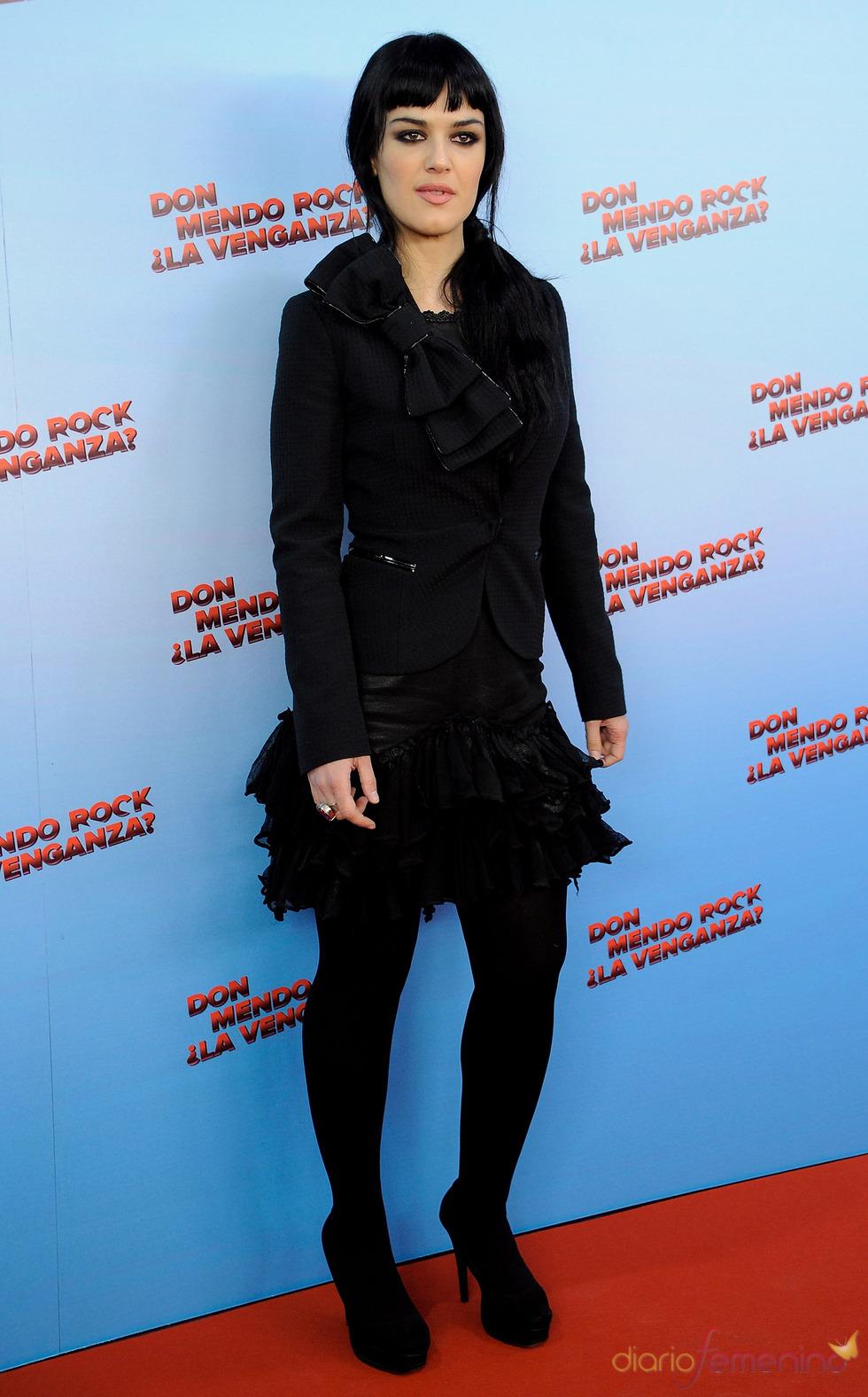 Sara Vega en 'Don Mendo Rock ¿La venganza?'