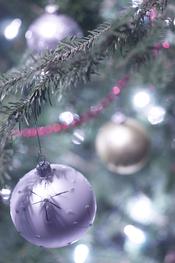 Bolas originales para el árbol de Navidad