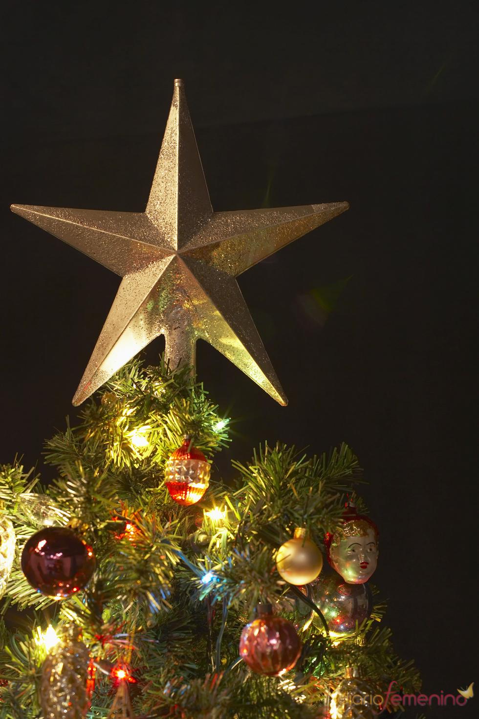 La guinda del árbol de Navidad