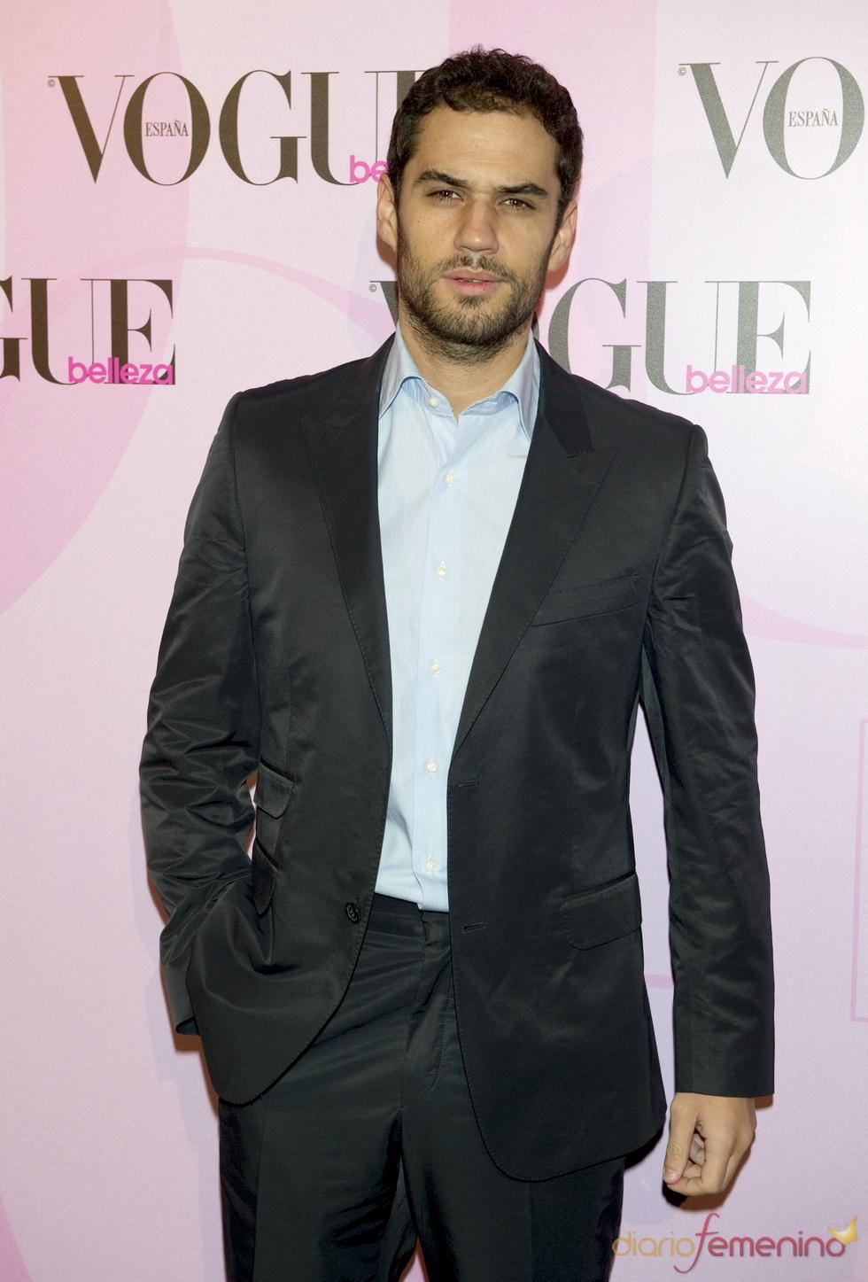 Iker Lastras en la fiesta Vogue Open Day
