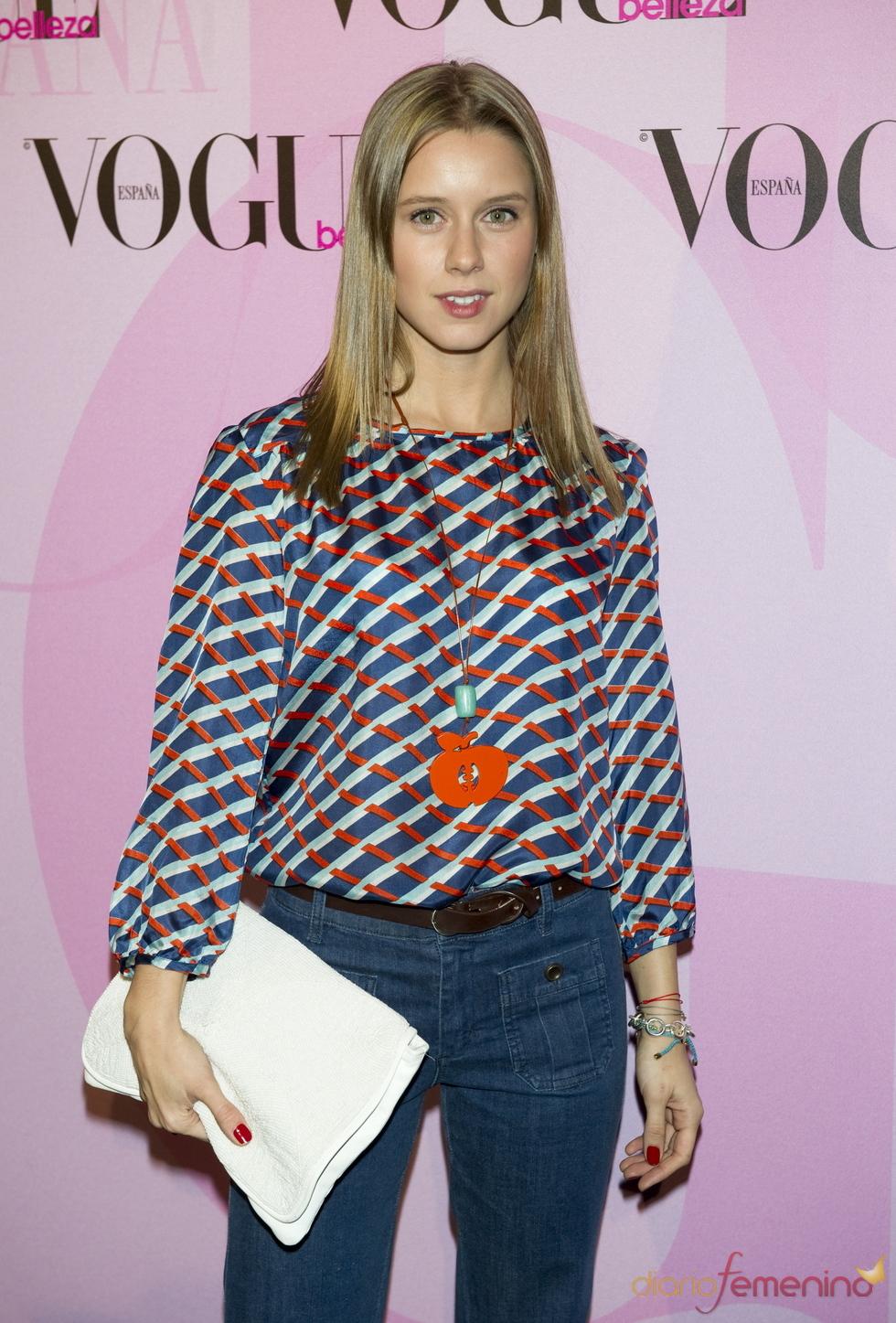 Manuela Vellés en la fiesta Vogue Open Day