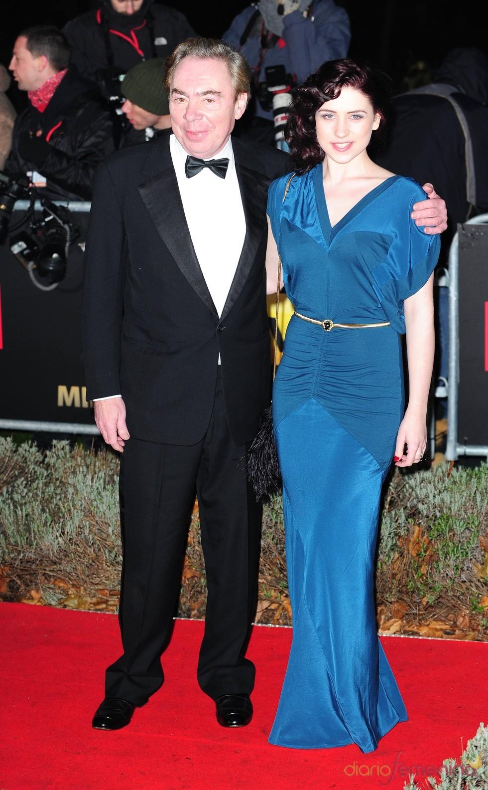 Andrew Lloyd Webber y Sophie Evans en los Military Adwards 2010