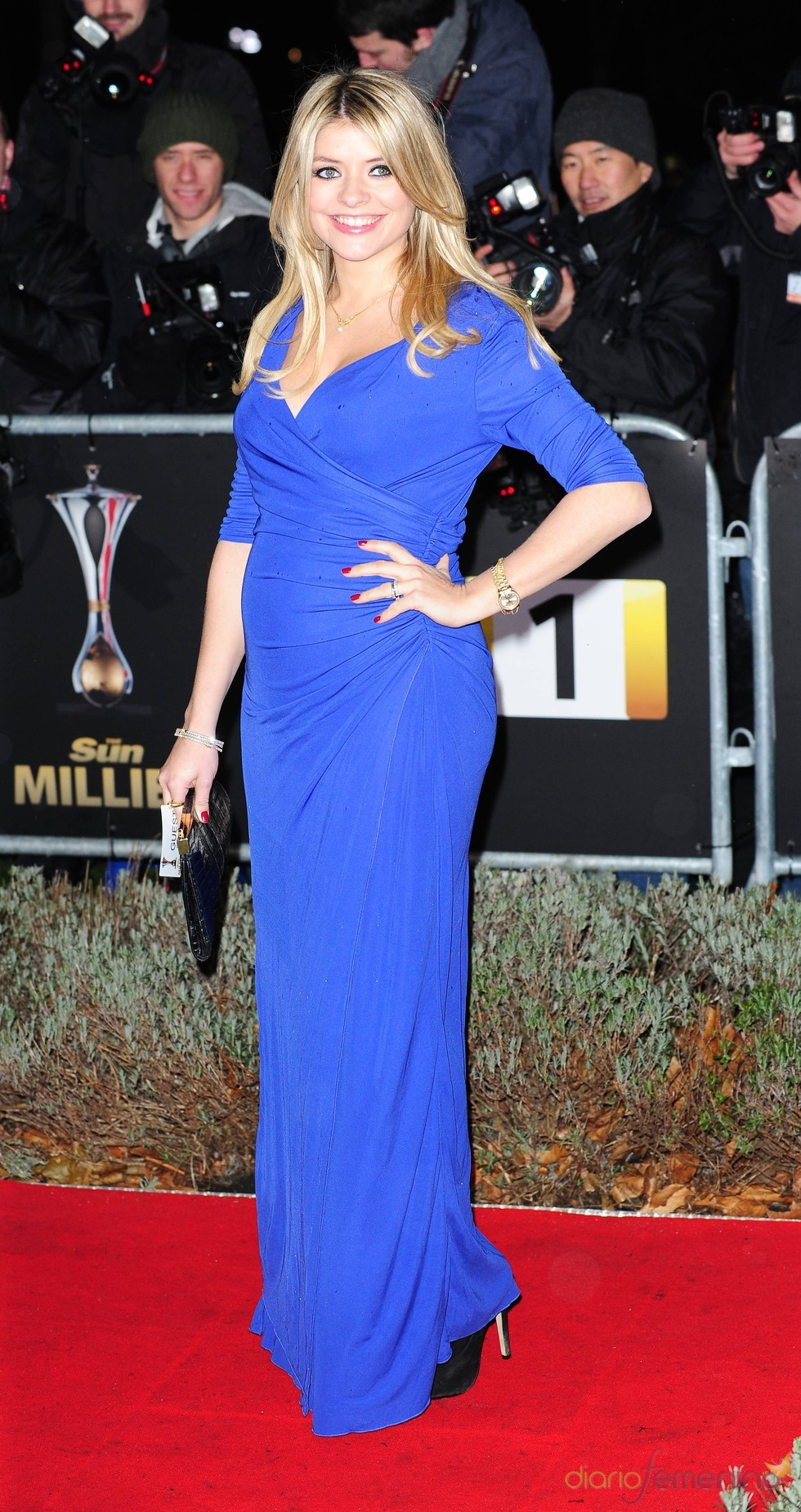 Holly Willoughby en los Military Adwards 2010