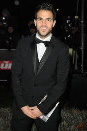 Cesc Fabregas en los Military Adwards 2010