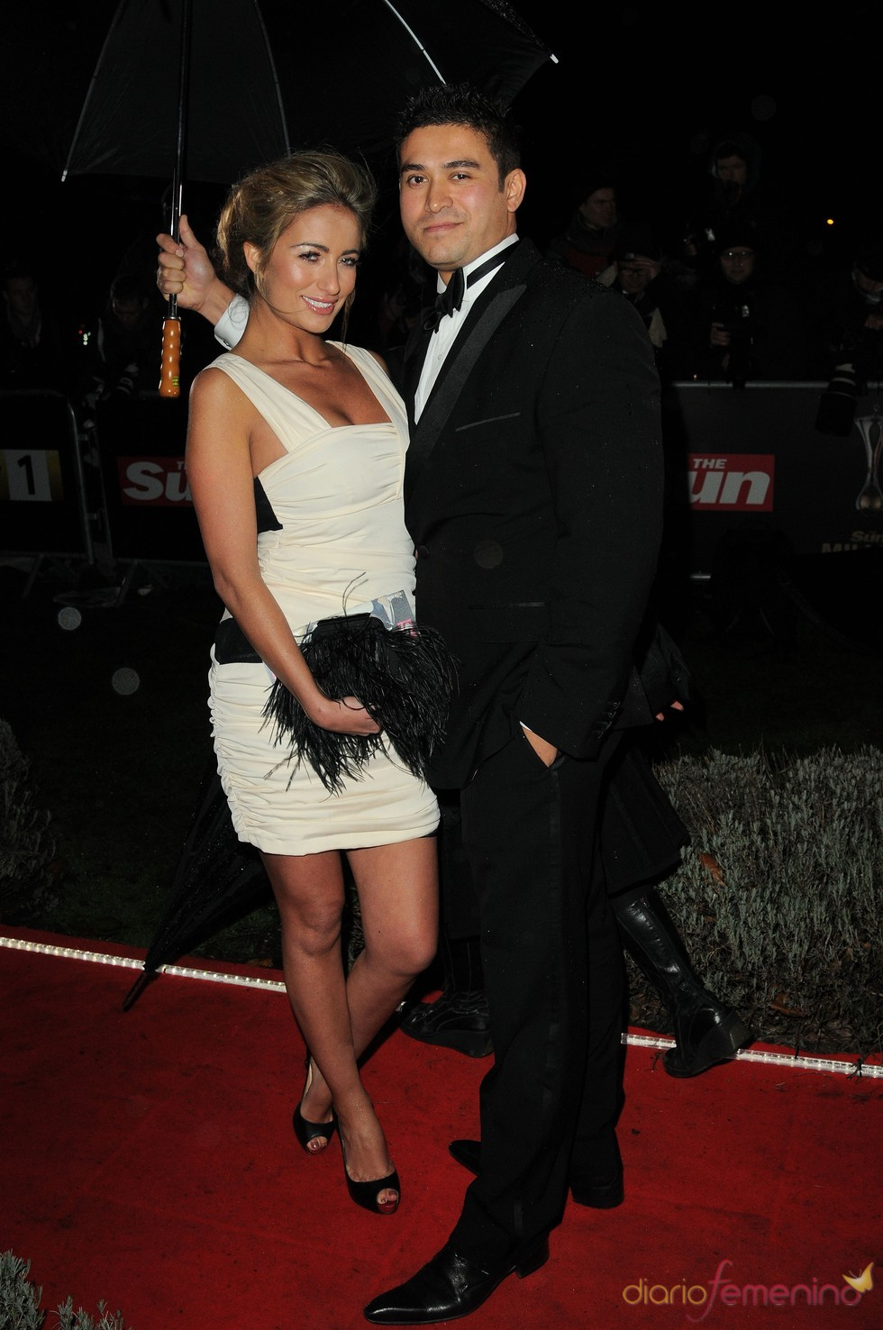 Chantelle Houghton en los Military Adwards 2010