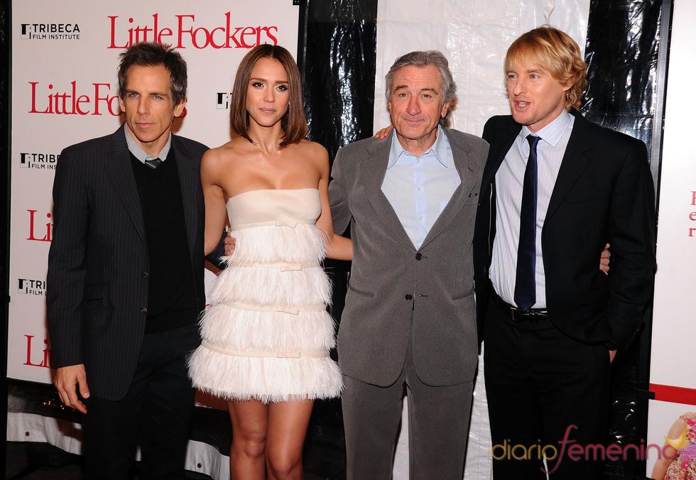 El elenco de 'Little Fockers'