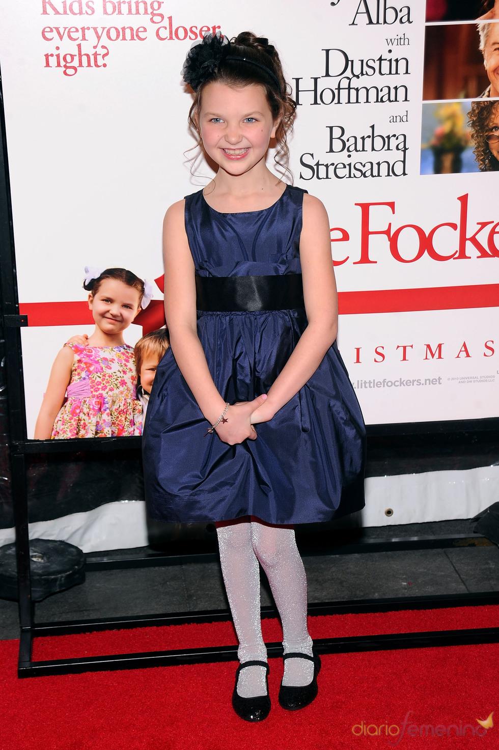 Daisy Tahan en la premier de 'Little Fockers'