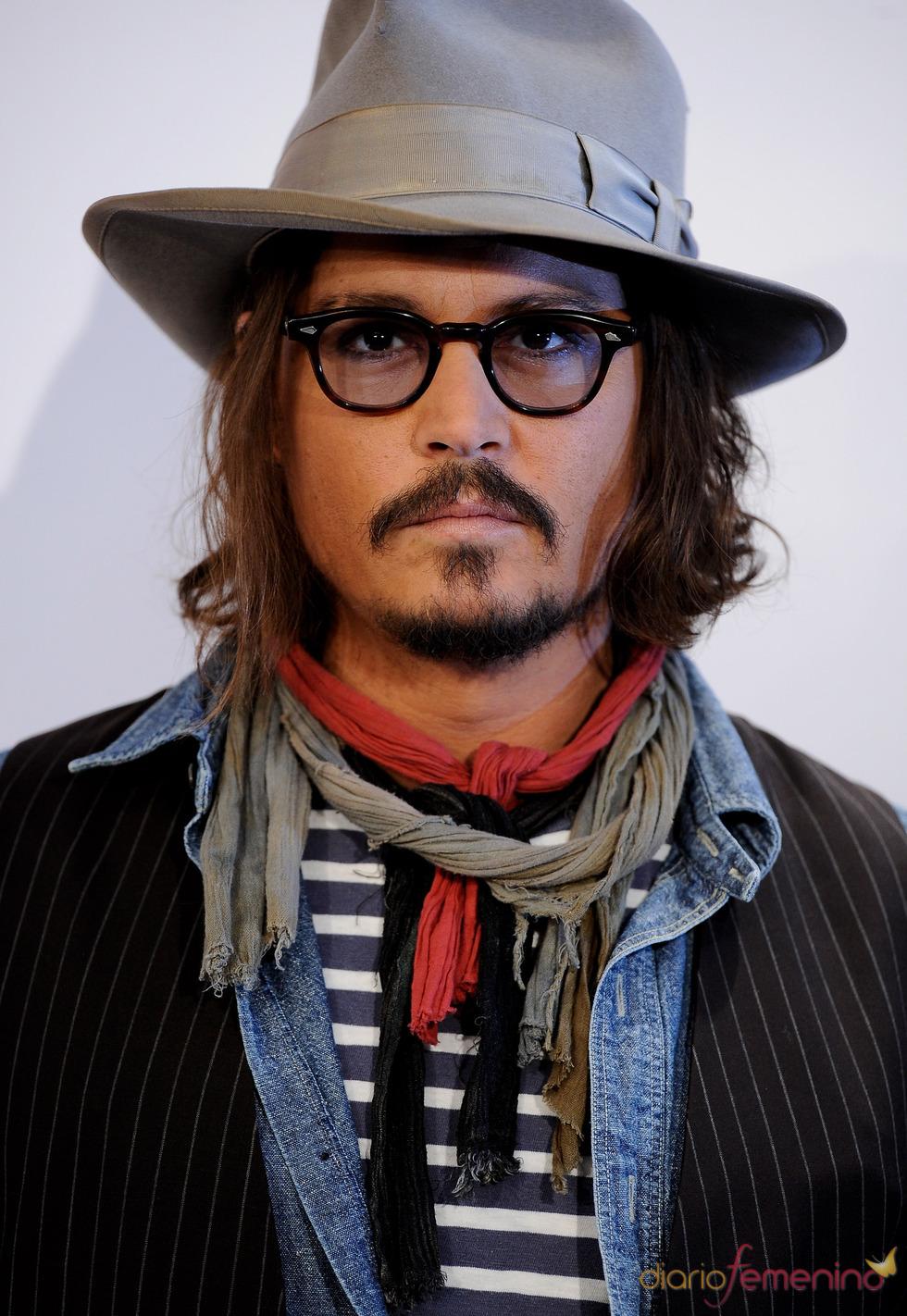 Johnny Depp presentar en Madrid 'The Tourist' como un 'vaquero'
