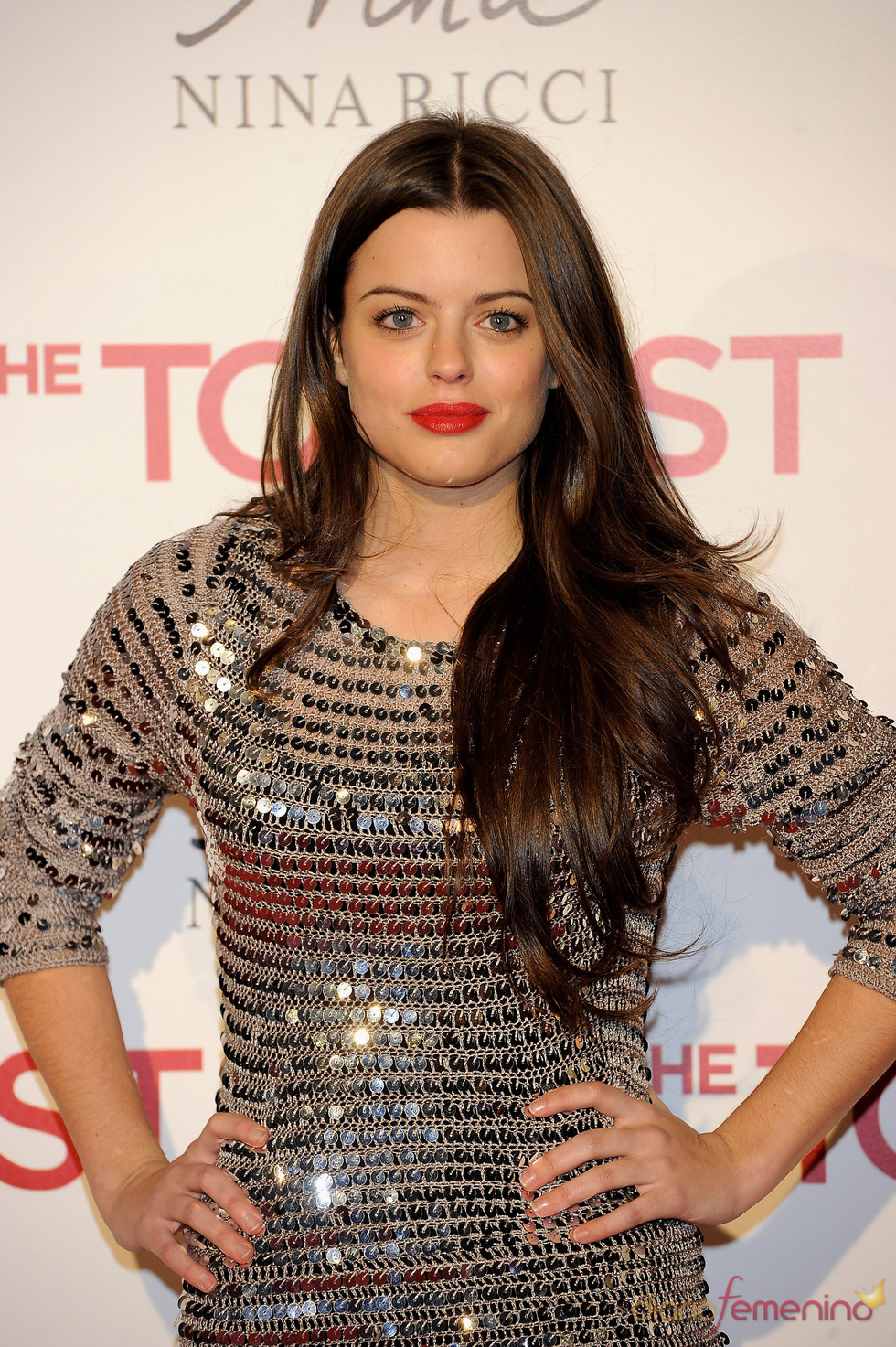 Adriana Torrebejano en la premiere en Madrid de 'The Tourist'